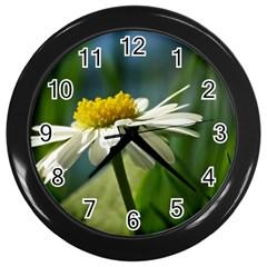 Daisy Wall Clock (Black)