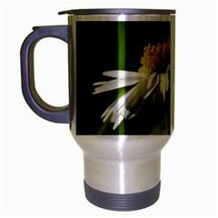Daisy Travel Mug (Silver Gray)