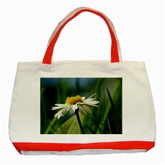 Daisy Classic Tote Bag (Red)