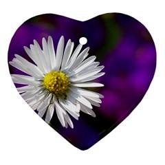 Daisy Heart Ornament