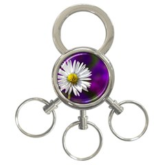 Daisy 3 Ring Key Chain
