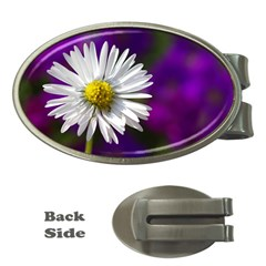 Daisy Money Clip (Oval)
