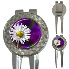 Daisy Golf Pitchfork & Ball Marker