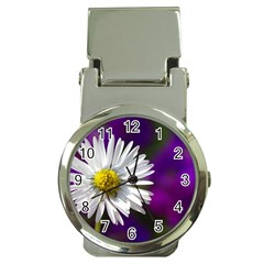 Daisy Money Clip with Watch