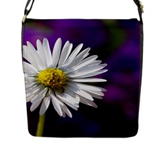 Daisy Flap Closure Messenger Bag (large)