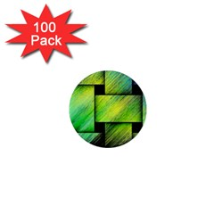 Modern Art 1  Mini Button Magnet (100 pack)