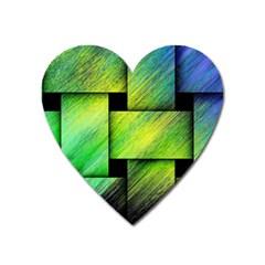 Modern Art Magnet (Heart)