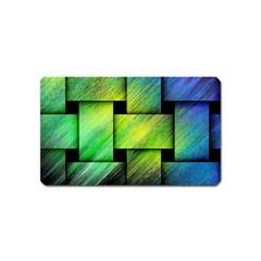 Modern Art Magnet (Name Card)