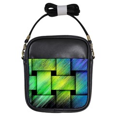 Modern Art Girl s Sling Bag