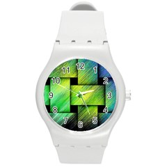 Modern Art Plastic Sport Watch (Medium)