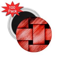 Modern Art 2.25  Button Magnet (100 pack)