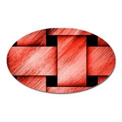 Modern Art Magnet (Oval)