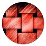 Modern Art Magnet 5  (Round) Front