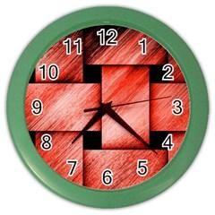 Modern Art Wall Clock (color)