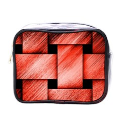 Modern Art Mini Travel Toiletry Bag (One Side)