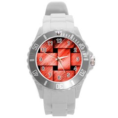 Modern Art Plastic Sport Watch (Large)