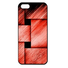 Modern Art Apple iPhone 5 Seamless Case (Black)