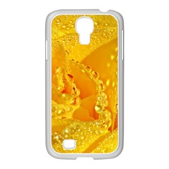 Waterdrops Samsung GALAXY S4 I9500/ I9505 Case (White)