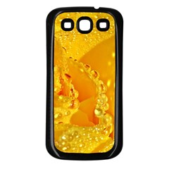 Waterdrops Samsung Galaxy S3 Back Case (Black)