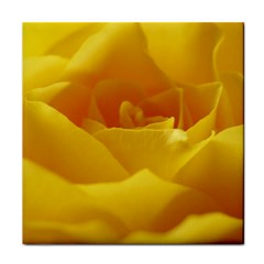 Yellow Rose Ceramic Tile