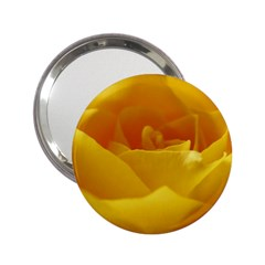 Yellow Rose Handbag Mirror (2 25 )