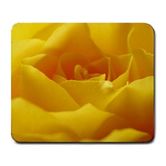 Yellow Rose Large Mouse Pad (Rectangle)