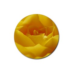Yellow Rose Drink Coaster (Round)