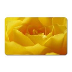 Yellow Rose Magnet (Rectangular)