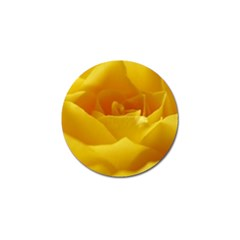 Yellow Rose Golf Ball Marker