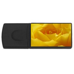 Yellow Rose 1GB USB Flash Drive (Rectangle)