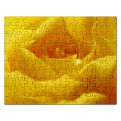 Yellow Rose Jigsaw Puzzle (Rectangle)