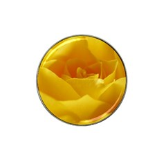 Yellow Rose Golf Ball Marker 4 Pack (for Hat Clip)