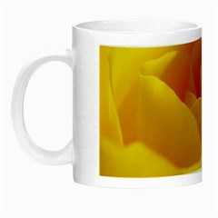 Yellow Rose Glow in the Dark Mug