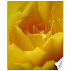 Yellow Rose Canvas 16  x 20  (Unframed)