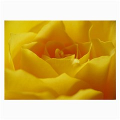 Yellow Rose Glasses Cloth (large, Two Sided)