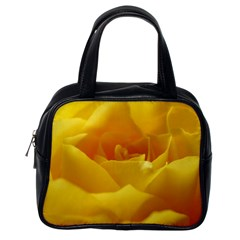 Yellow Rose Classic Handbag (One Side)