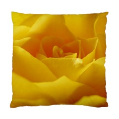 Yellow Rose Cushion Case (Two Sided)