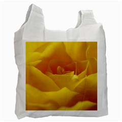 Yellow Rose Recycle Bag (One Side)