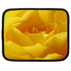 Yellow Rose Netbook Case (XL)