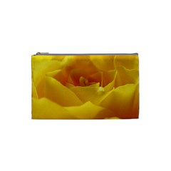 Yellow Rose Cosmetic Bag (small)