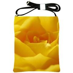 Yellow Rose Shoulder Sling Bag