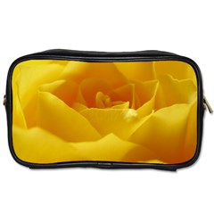 Yellow Rose Travel Toiletry Bag (Two Sides)