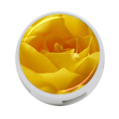 Yellow Rose 4-Port USB Hub (Two Sides)