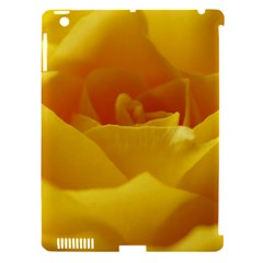 Yellow Rose Apple Ipad 3/4 Hardshell Case (compatible With Smart Cover)