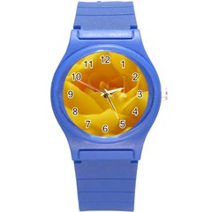 Yellow Rose Plastic Sport Watch (Small)