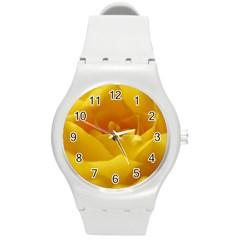 Yellow Rose Plastic Sport Watch (Medium)
