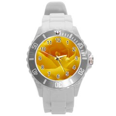 Yellow Rose Plastic Sport Watch (Large)