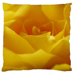 Yellow Rose Large Cushion Case (Two Sided)