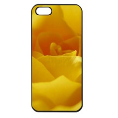 Yellow Rose Apple iPhone 5 Seamless Case (Black)