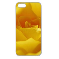 Yellow Rose Apple Seamless iPhone 5 Case (Clear)